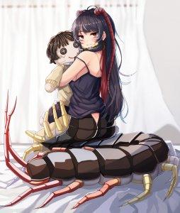 Rating: Questionable Score: 0 Tags: centipede_girl emukae_kaede_(plan) original plan_(planhaplalan) User: Vetyt