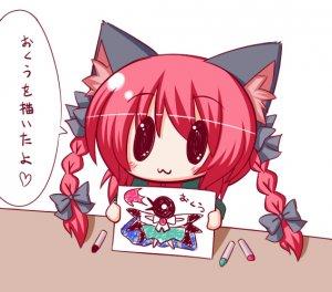 Rating: Safe Score: 0 Tags: chibi kemonomimi rin_kaenbyou touhou User: DarkV