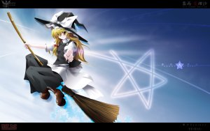 Rating: Safe Score: 0 Tags: marisa_kirisame touhou User: Vetyt