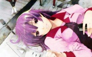 Rating: Safe Score: 0 Tags: bakemonogatari monogatari_series senjougahara User: DarkV