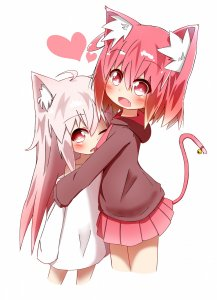 Rating: Safe Score: 0 Tags: kemonomimi przytula User: DarkV