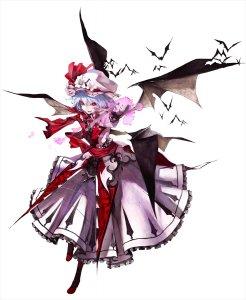 Rating: Safe Score: 0 Tags: banpai_akira koumajou_densetsu remilia_scarlet touhou wampir User: DarkV