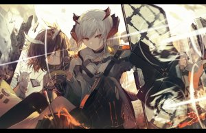 Rating: Safe Score: 0 Tags: arknights saria User: Vetyt