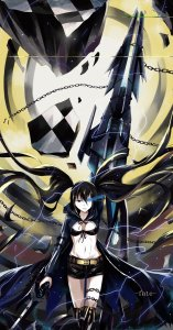 Rating: Safe Score: 0 Tags: black_rock_shooter black_rock_shooter_(character) działo User: DarkV
