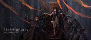 Rating: Safe Score: 0 Tags: demon original pixiv_fantasia tron User: DarkV
