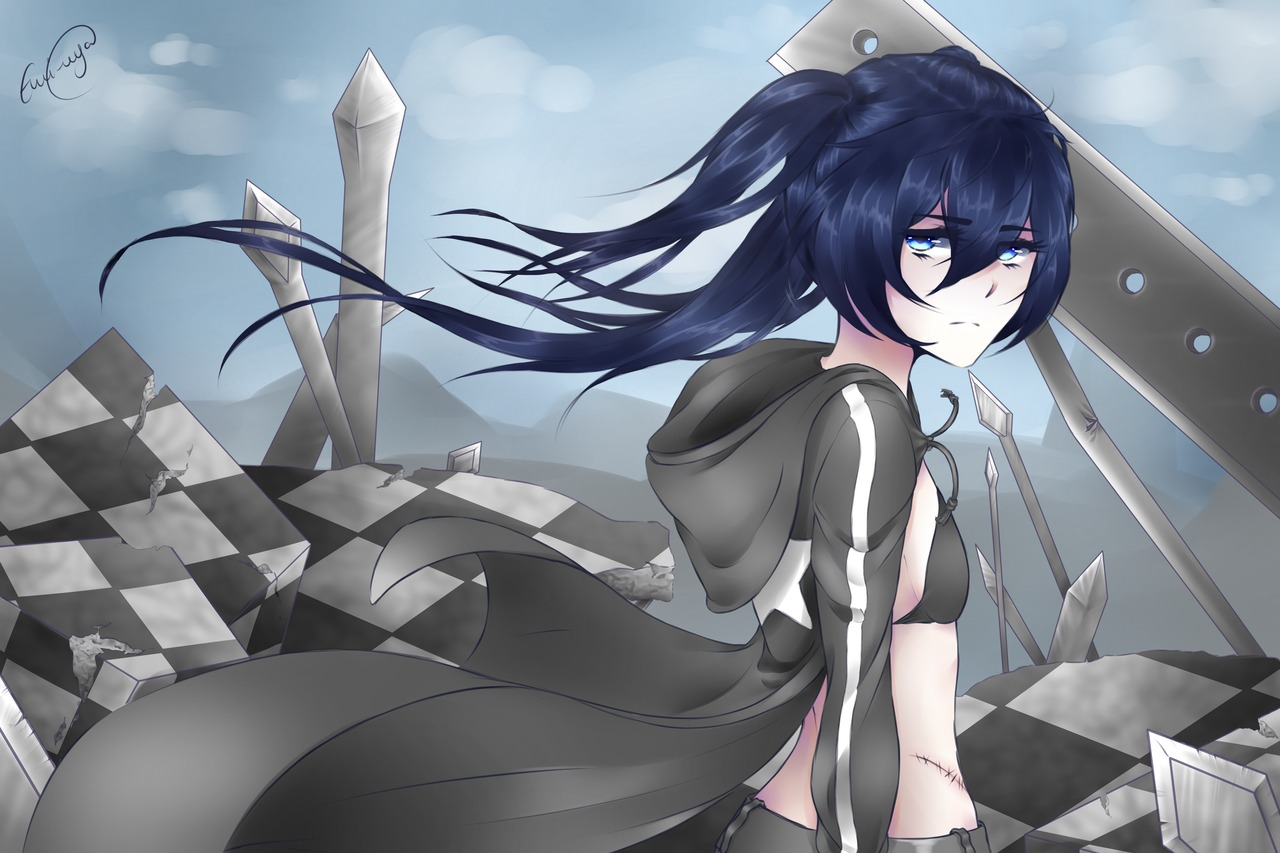 black_rock_shooter black_rock_shooter_(character)